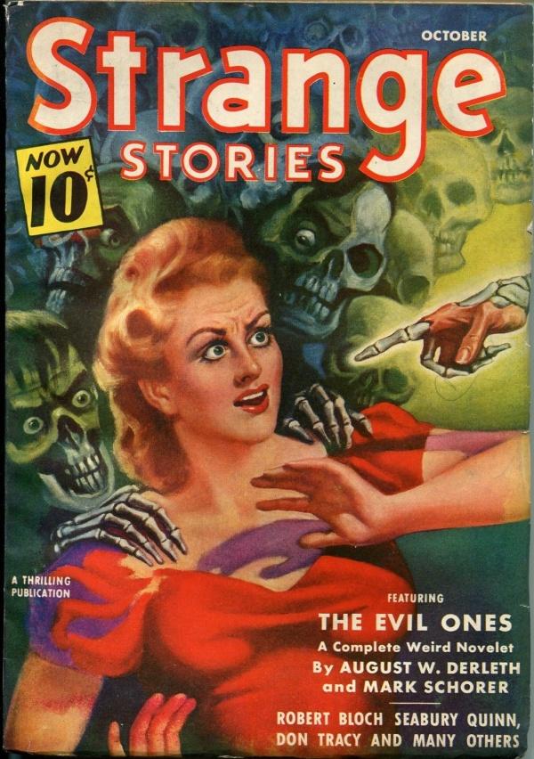 Strange Stories October 1940