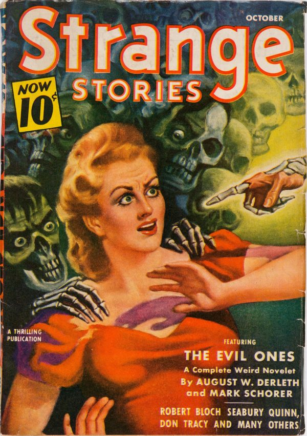Strange Stories magazine - October 1940