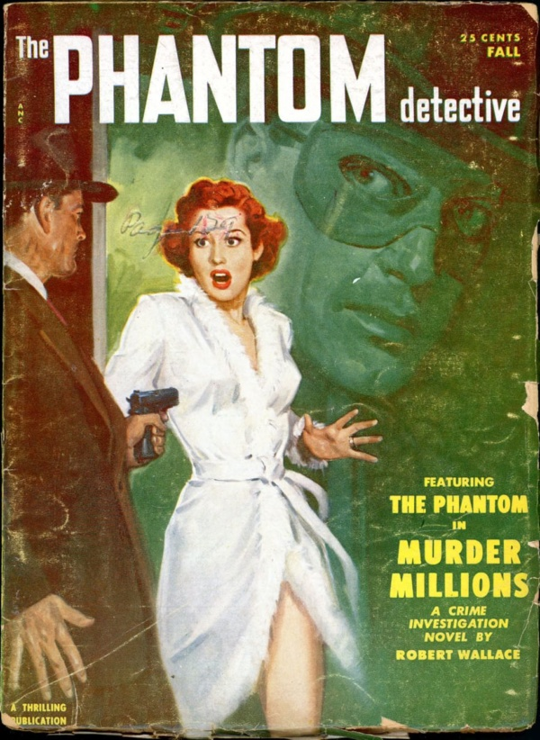 THE PHANTOM DETECTIVE. Fall, 1951