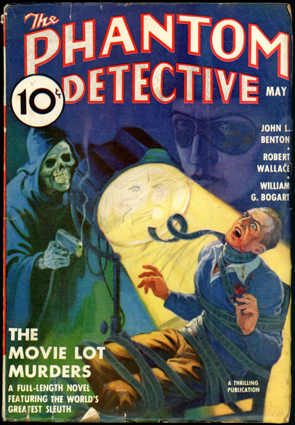 THE PHANTOM DETECTIVE. May, 1938