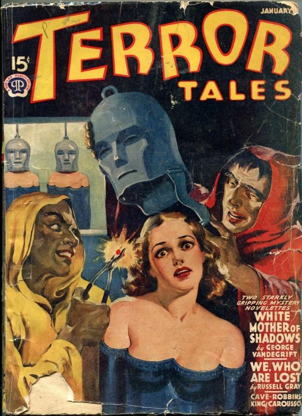 Terror Tales January 1941