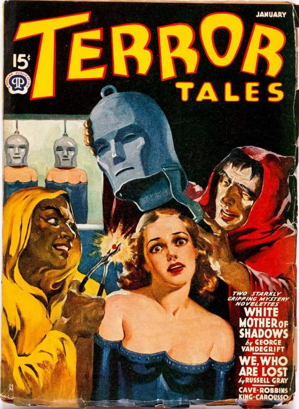Terror Tales Magazine January 1941