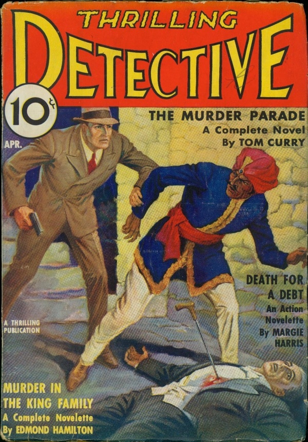 Thrilling Detective August 1936