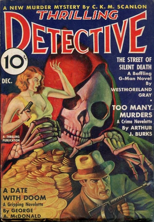 Thrilling Detective December 1937