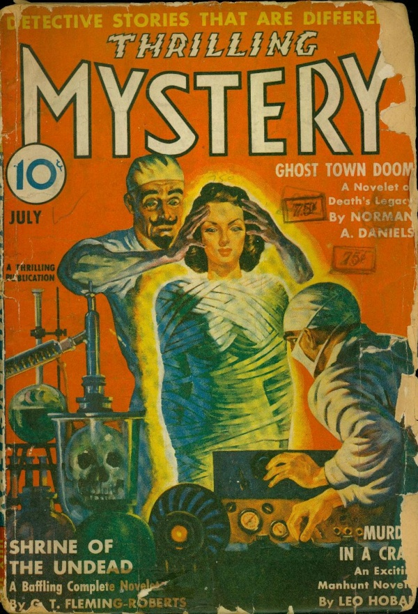Thrilling Mystery July 1942