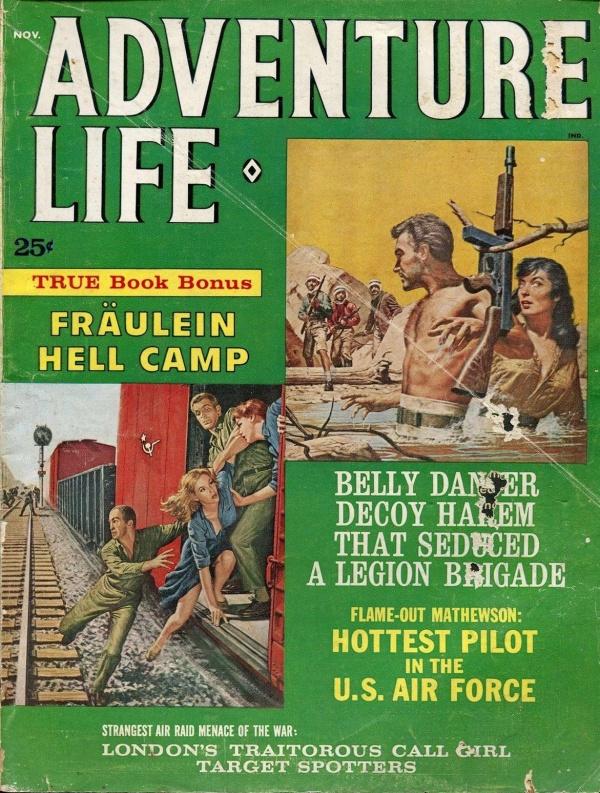ADVENTURE LIFE November 1962