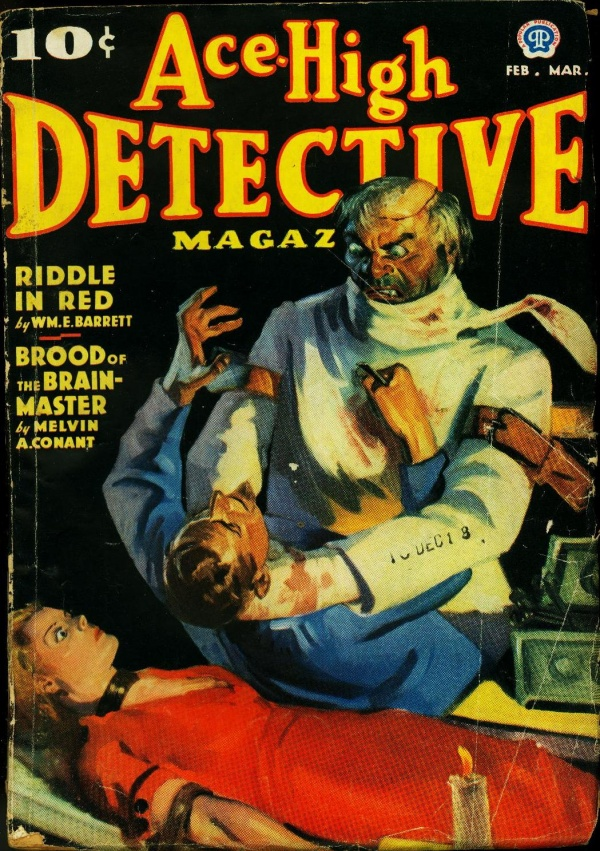 Ace-High Detective February 1937