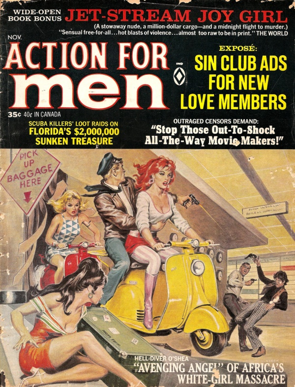 Action For Men, Nov. 1967