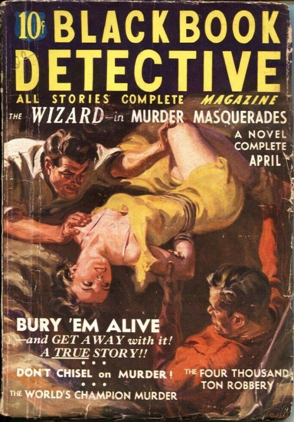April 1937 Black Book Detective