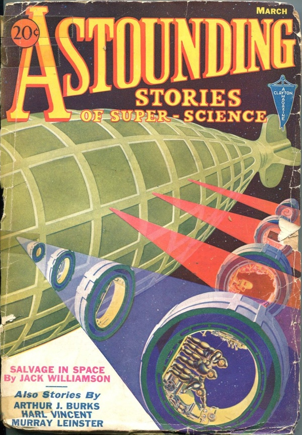 Astounding Stories March 1933