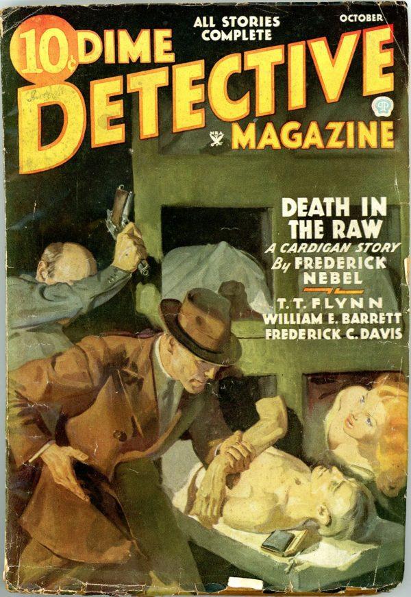 DIME DETECTIVE MAGAZINE. October, 1935