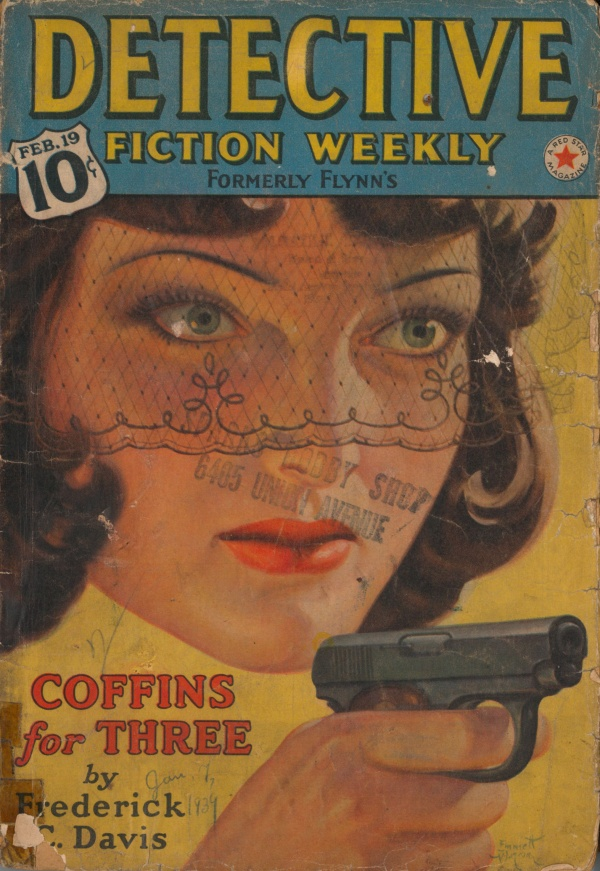 Detective Fiction Weekly February 19, 1938