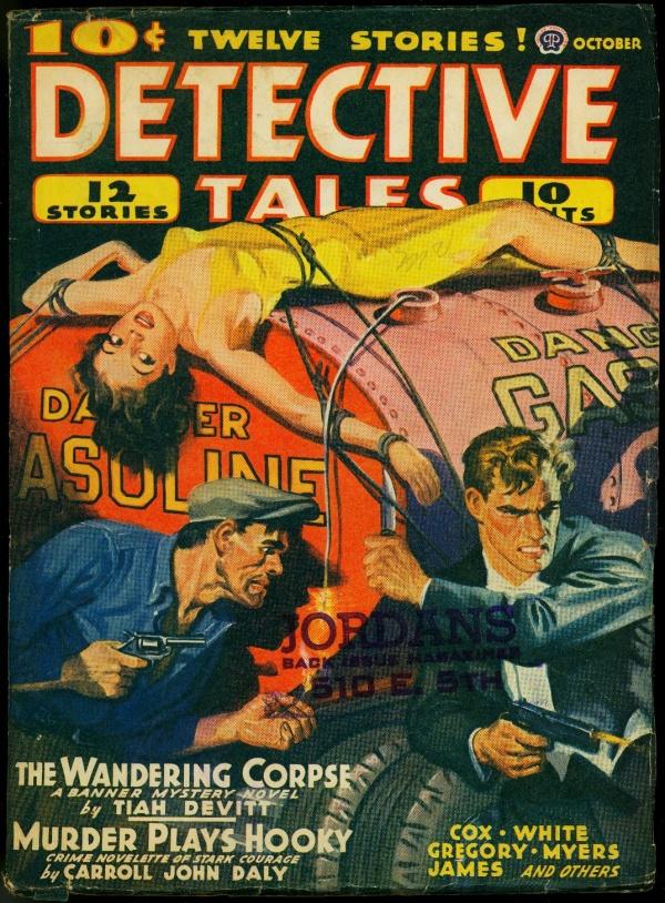 Detective Tales October 1940