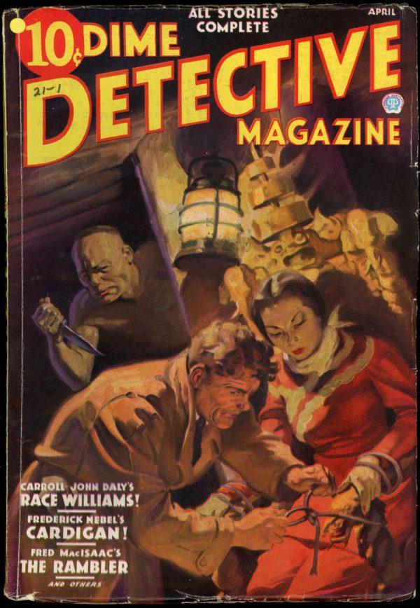Dime Detective April 1936