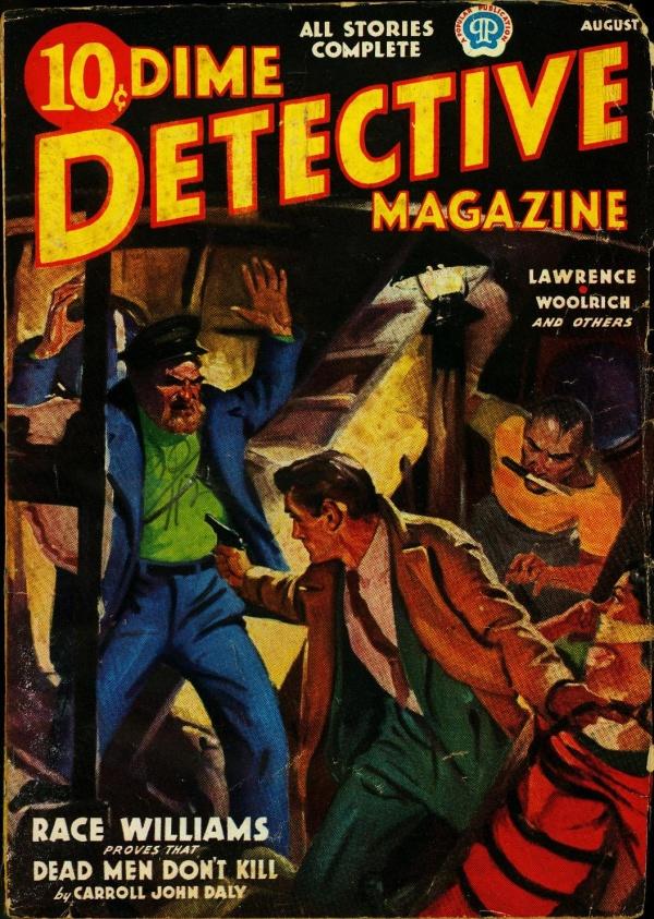 Dime Detective August 1937
