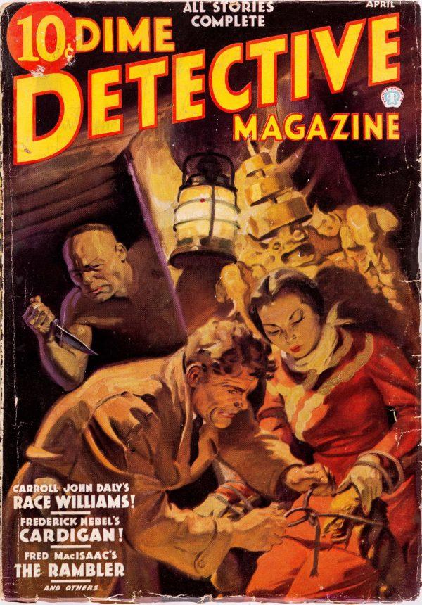 Dime Detective Magazine - April 1936