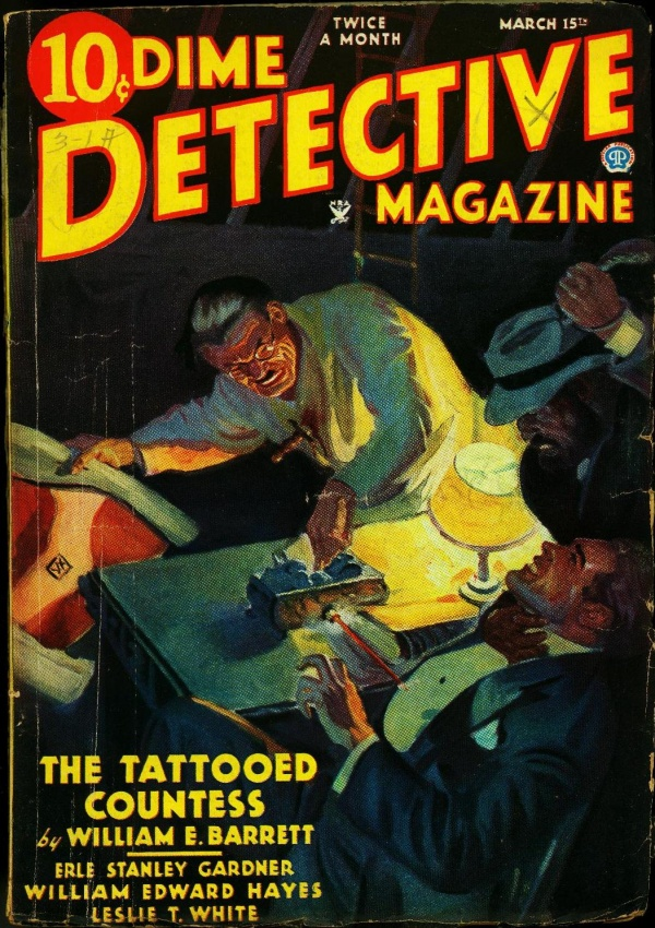 Dime Detective March 15 1935