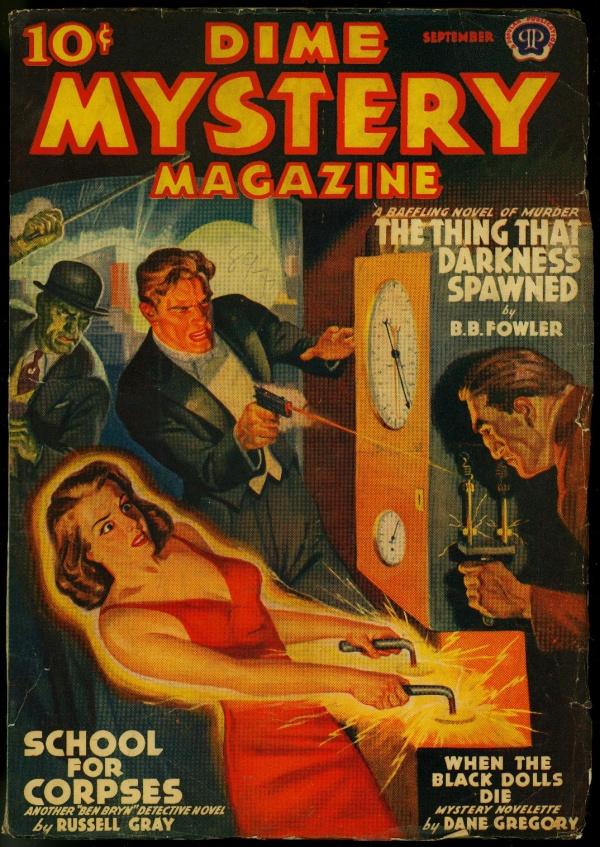 Dime Mystery September 1939
