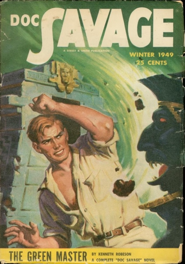 Doc Savage Winter 1949