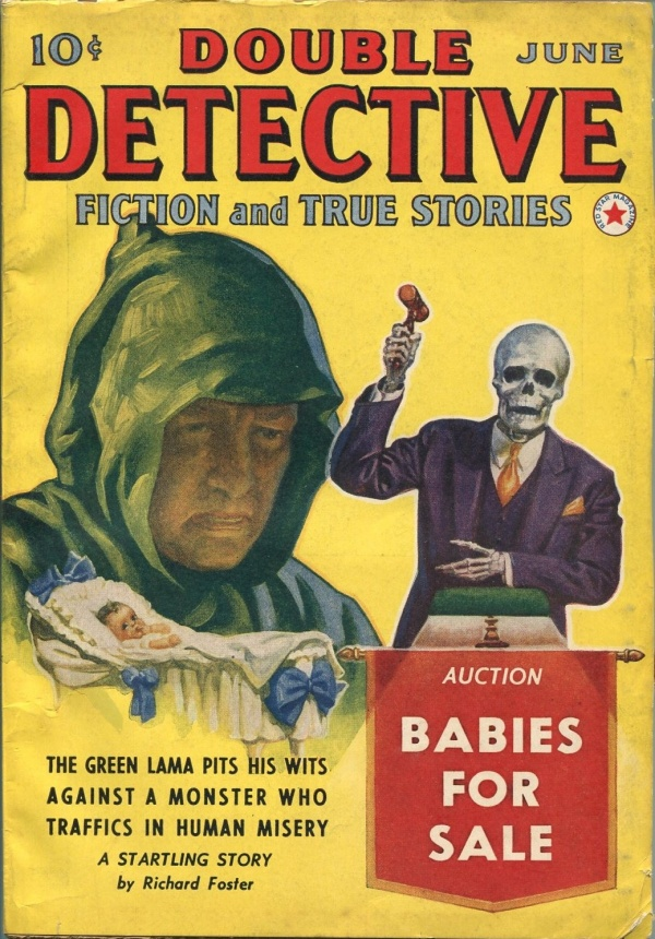 Double Detective June 1940