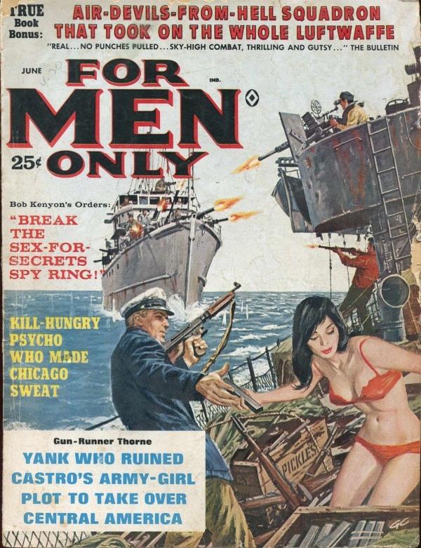 FOR MEN ONLY June 1963