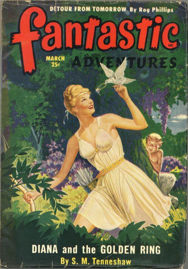 Fantastic Adventures March 1950