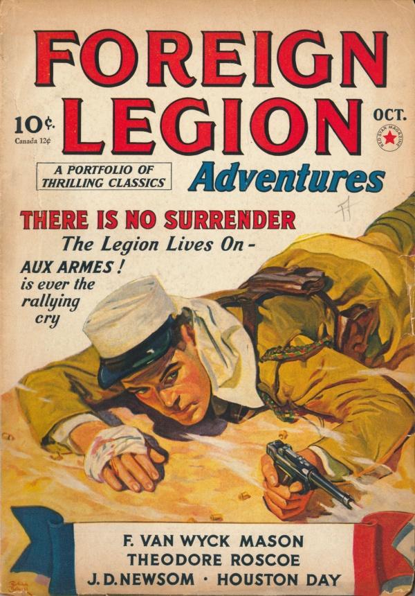 Foreign Legion Adventures October 1940