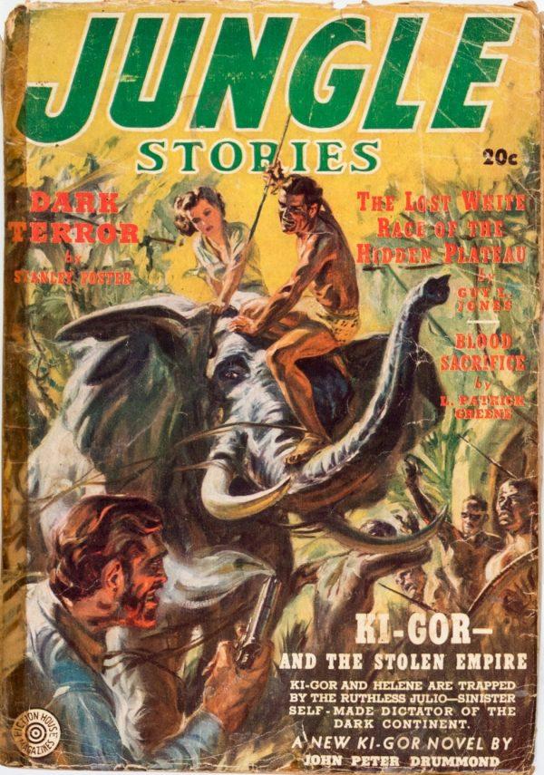 Jungle Stories Magazine Summer 1939