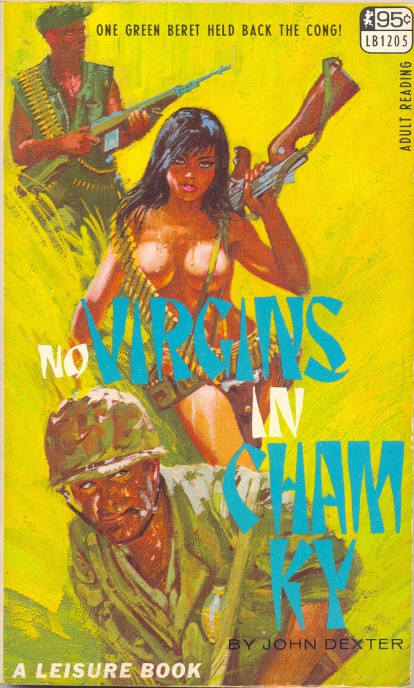 Leisure Books LB1205 - No Virgins In Cham Ky 1967