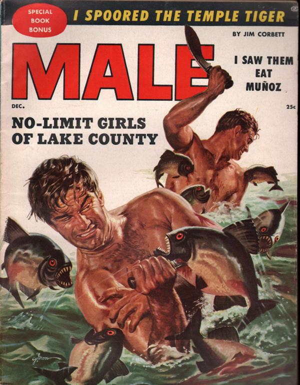 Male Magazine December 1955