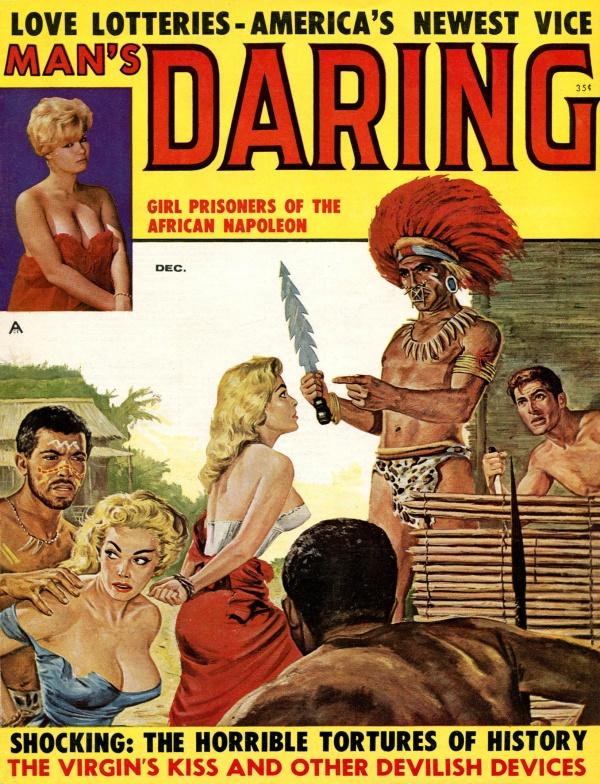 Man's Daring December 1960