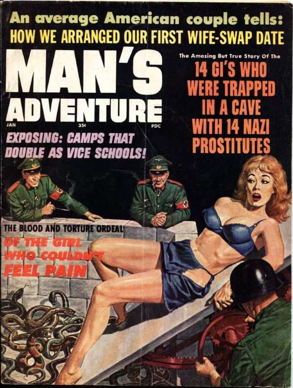 Man's Adventures January 1966