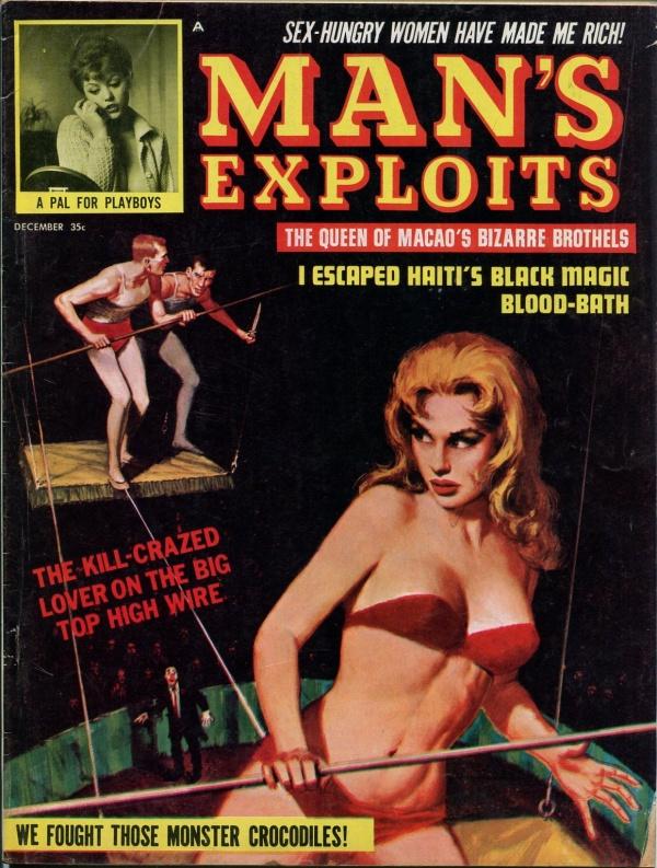 Man's Exploits December 1963