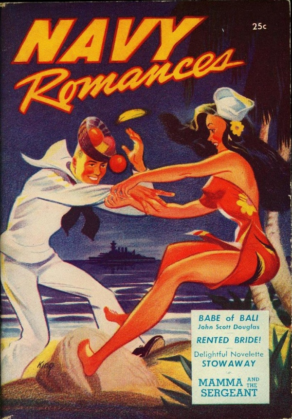 Navy Romances Spring 1946