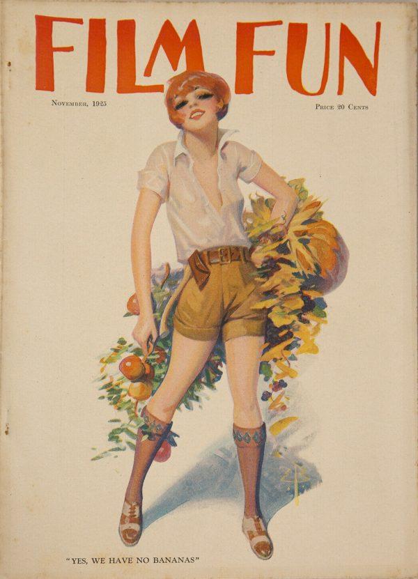November 1925 Film Fun Magazine