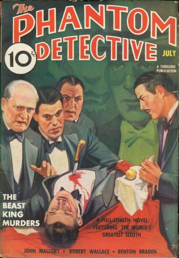 Phantom Detective July 1937