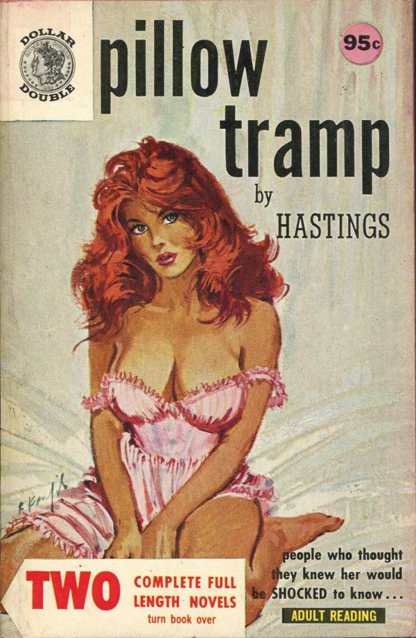 Pillow Tramp Dollar Double 950 1962