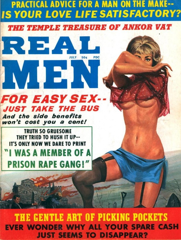 Real Men July 1971