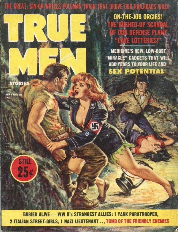 TRUE MEN STORIES September 1963