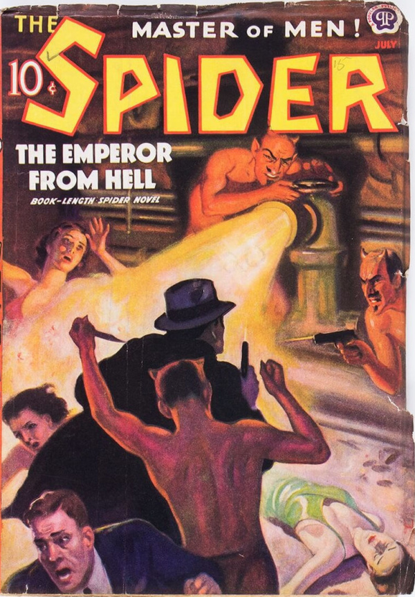 The Spider - July 1938