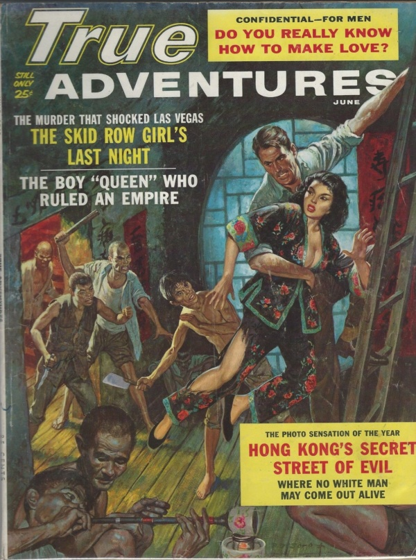 True Adventures Magazine June 1962