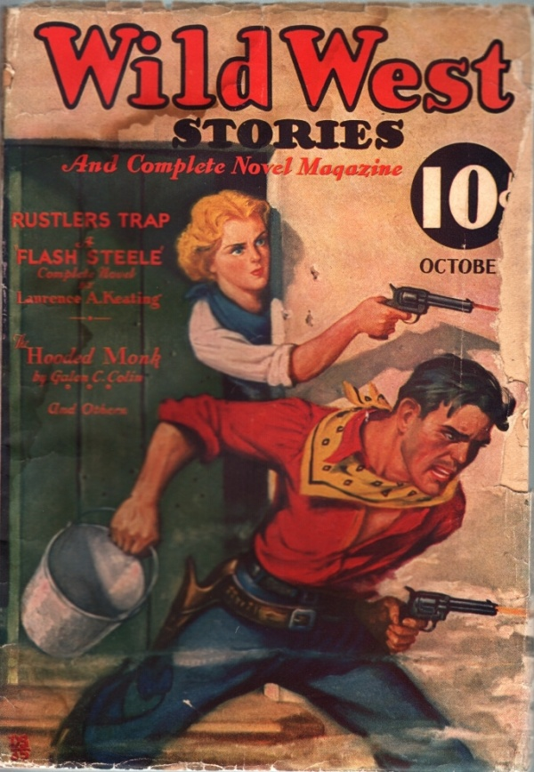 Wild West Stories And Complete Novel Magazine October 1935