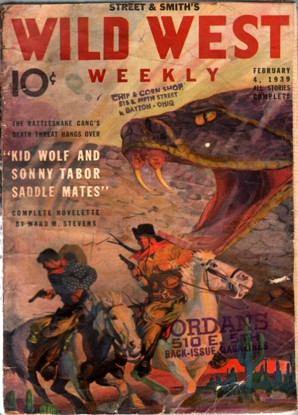Wild West Weekly February 4 1939