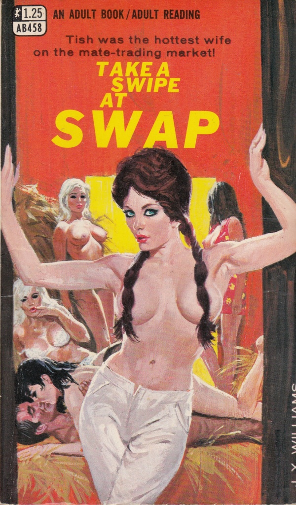 Adult Books AB458 - Take A Swipe At Swap (1968)
