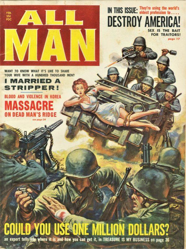 All Man Magazine February 1960