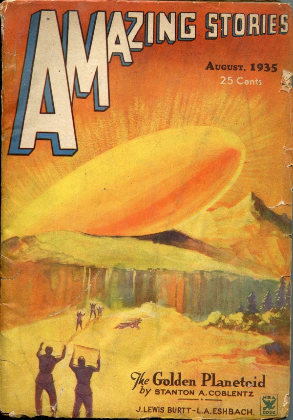 Amazing Stories August 1935