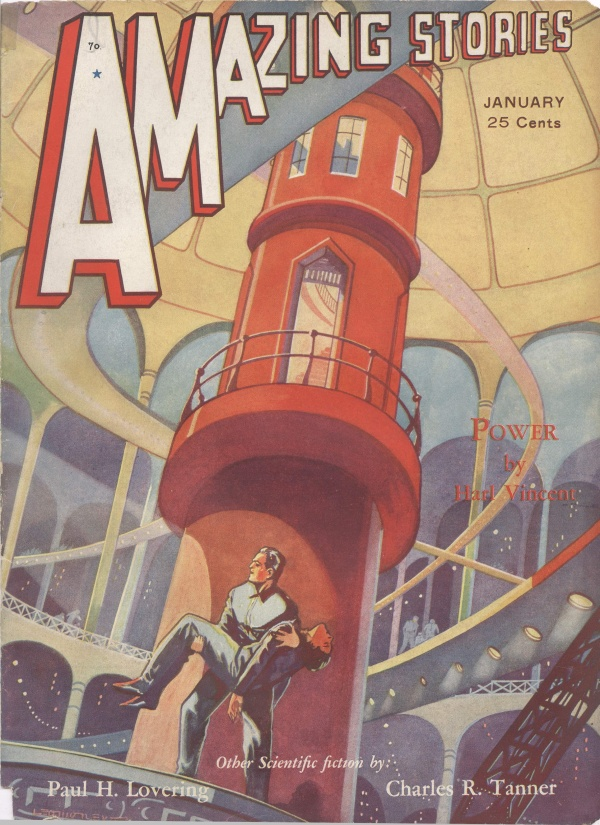 Amazing Stories January 1932