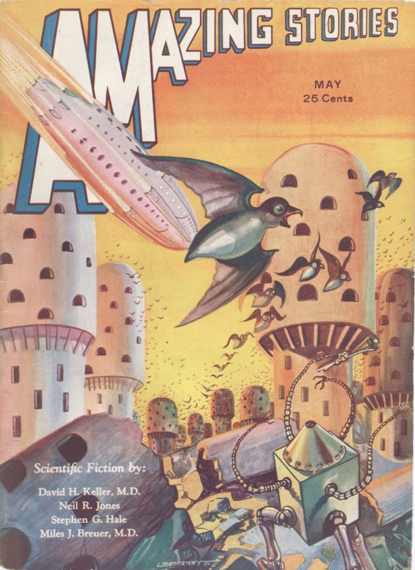 Amazing Stories May 1932