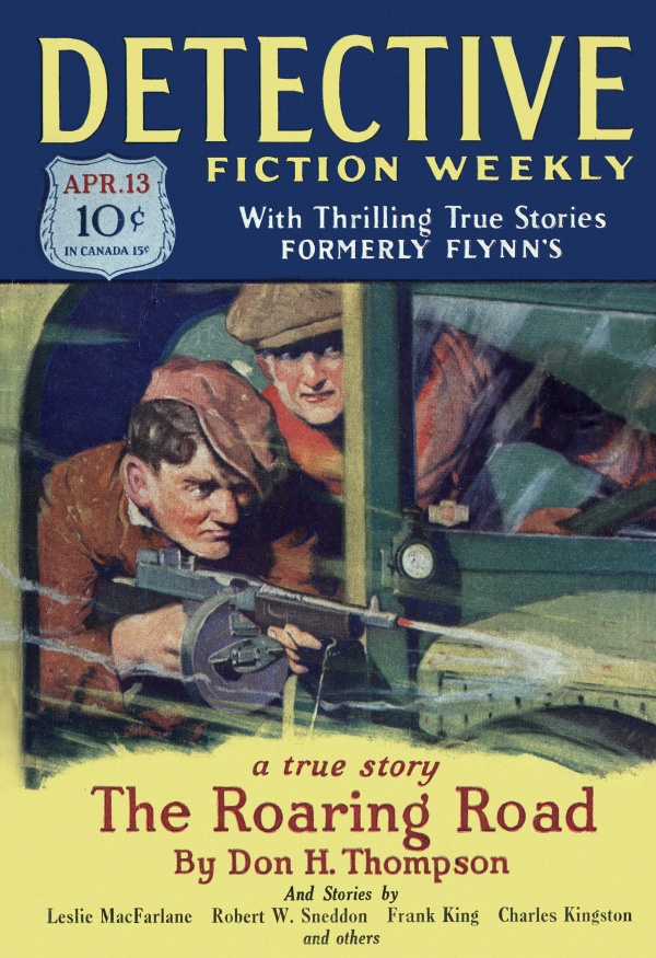 Detective Fiction Weekly April 1929