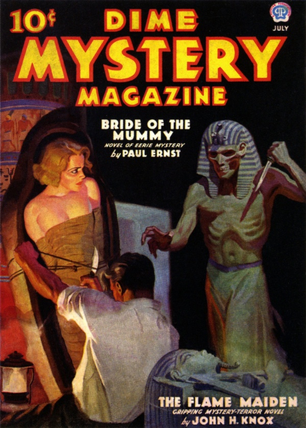 Dime Mystery Magazine - 1936-07